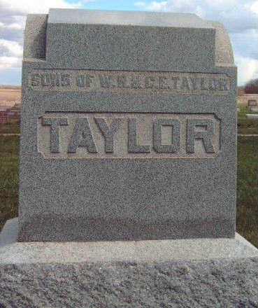 TAYLOR, FAMILY STONE - Madison County, Iowa | FAMILY STONE TAYLOR