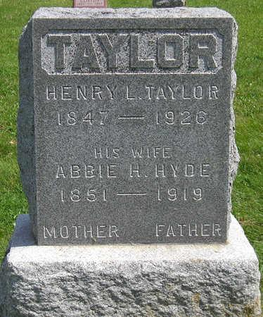 TAYLOR, HENRY L. - Madison County, Iowa | HENRY L. TAYLOR