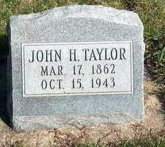 TAYLOR, JOHN H. - Madison County, Iowa | JOHN H. TAYLOR