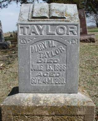 TAYLOR, MARY M. - Madison County, Iowa | MARY M. TAYLOR