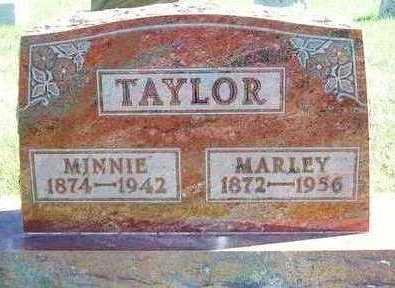 TAYLOR, MINNIE ELDORA - Madison County, Iowa | MINNIE ELDORA TAYLOR