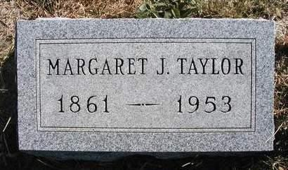 WALKER TAYLOR, MARGARET J. - Madison County, Iowa | MARGARET J. WALKER TAYLOR
