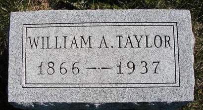 TAYLOR, WILLIAM ALEXANDER - Madison County, Iowa   WILLIAM ALEXANDER TAYLOR