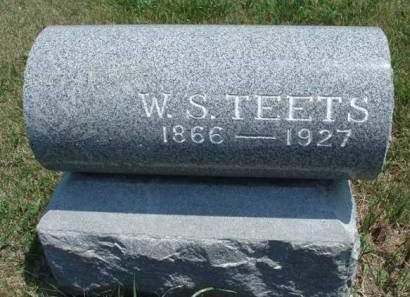 TEETS, WILLIAM SHERMAN - Madison County, Iowa | WILLIAM SHERMAN TEETS