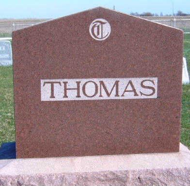 THOMAS, FAMILY STONE - Madison County, Iowa | FAMILY STONE THOMAS