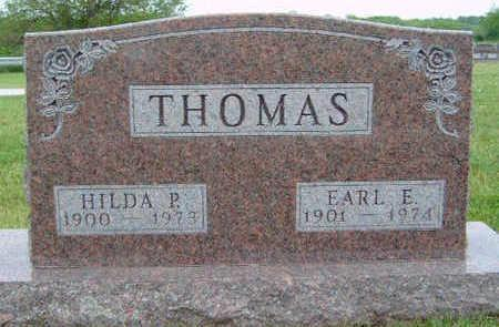 THOMAS, HILDA PAULINE - Madison County, Iowa | HILDA PAULINE THOMAS