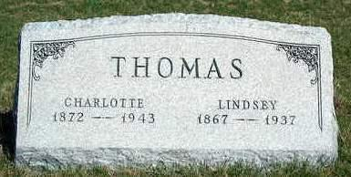 DIGGS THOMAS, CHARLOTTE E. (LOTTA) - Madison County, Iowa | CHARLOTTE E. (LOTTA) DIGGS THOMAS