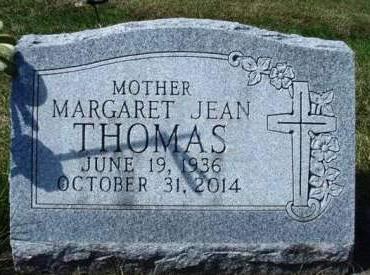 HESTER THOMAS, MARGARET JEAN - Madison County, Iowa | MARGARET JEAN HESTER THOMAS