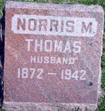 THOMAS, NORRIS MICAJAH - Madison County, Iowa | NORRIS MICAJAH THOMAS
