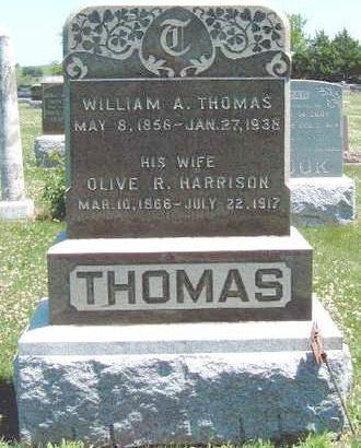THOMAS, OLIVE RUTH - Madison County, Iowa | OLIVE RUTH THOMAS