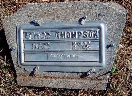 THOMPSON, ELMER - Madison County, Iowa | ELMER THOMPSON