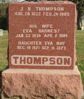 THOMPSON, EVA MAY - Madison County, Iowa | EVA MAY THOMPSON