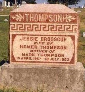 GROSSCUP THOMPSON, JESSIE - Madison County, Iowa | JESSIE GROSSCUP THOMPSON