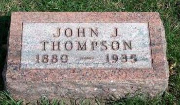 THOMPSON, JOHN JONATHAN - Madison County, Iowa | JOHN JONATHAN THOMPSON
