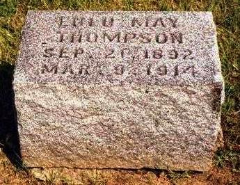 THOMPSON, LULU MAY - Madison County, Iowa | LULU MAY THOMPSON