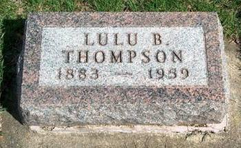 THOMPSON, LULU B. - Madison County, Iowa | LULU B. THOMPSON