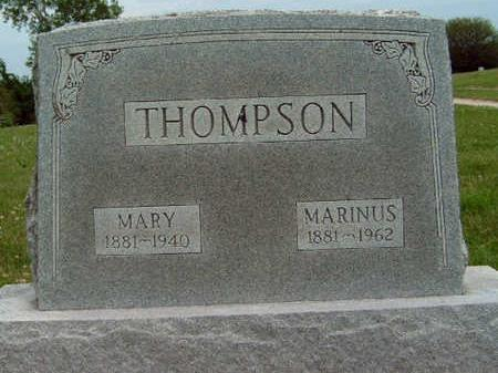 THOMPSON, MARINUS - Madison County, Iowa | MARINUS THOMPSON