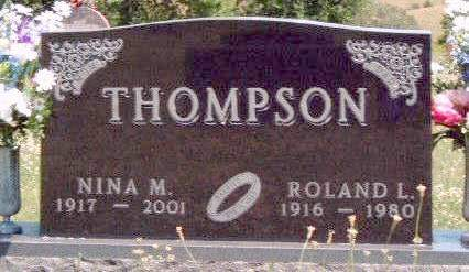THOMPSON, ROLAND L. - Madison County, Iowa | ROLAND L. THOMPSON