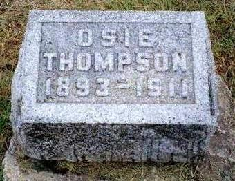 THOMPSON, OSIE - Madison County, Iowa | OSIE THOMPSON
