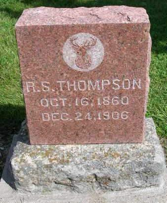 THOMPSON, RICHARD S. - Madison County, Iowa | RICHARD S. THOMPSON