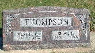 THOMPSON, SILAS EDWIN / EDWARD - Madison County, Iowa | SILAS EDWIN / EDWARD THOMPSON
