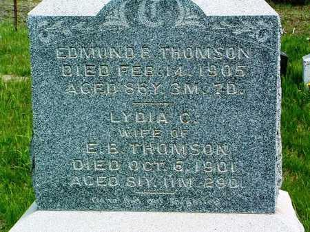 THOMSON, EDMUND B. - Madison County, Iowa | EDMUND B. THOMSON