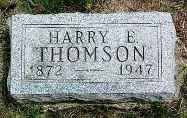 THOMSON, HARRY E. - Madison County, Iowa | HARRY E. THOMSON