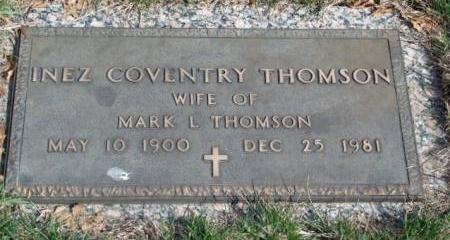COVENTRY THOMSON, INEZ - Madison County, Iowa | INEZ COVENTRY THOMSON