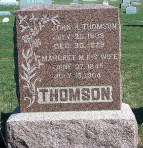 THOMSON, JOHN ROBINSON - Madison County, Iowa | JOHN ROBINSON THOMSON