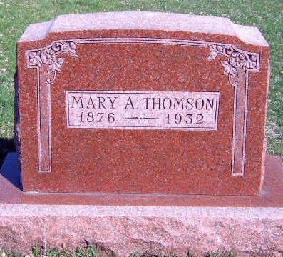 CHAPPEL THOMSON, MARY A. - Madison County, Iowa | MARY A. CHAPPEL THOMSON
