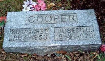 THORNBURG COOPER, MARGARET DELIA - Madison County, Iowa | MARGARET DELIA THORNBURG COOPER
