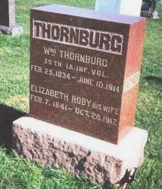 ROBY THORNBURG, ELIZABETH - Madison County, Iowa | ELIZABETH ROBY THORNBURG