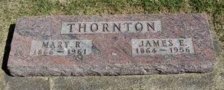 THORNTON, JAMES E. - Madison County, Iowa | JAMES E. THORNTON