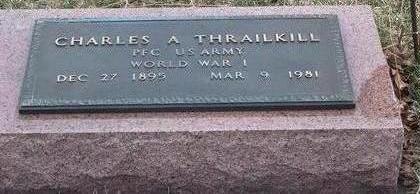 THRAILKILL, CHARLES ALBERT - Madison County, Iowa | CHARLES ALBERT THRAILKILL