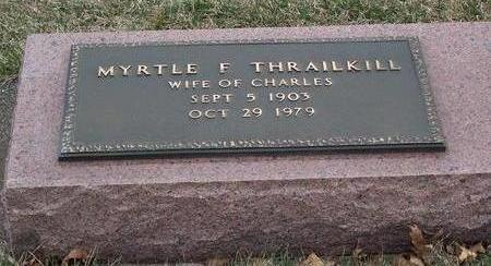 BOYLE THRAILKILL, MYRTLE FRANCES - Madison County, Iowa | MYRTLE FRANCES BOYLE THRAILKILL