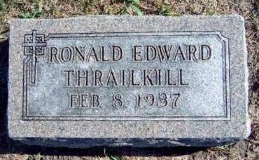 THRAILKILL, RONALD EDWARD - Madison County, Iowa | RONALD EDWARD THRAILKILL