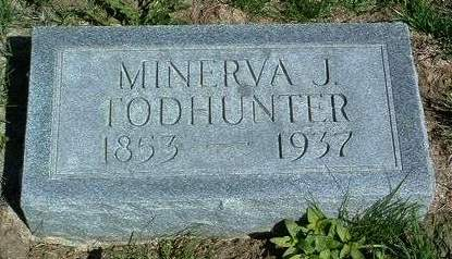 TODHUNTER, MINERVA JANE - Madison County, Iowa | MINERVA JANE TODHUNTER