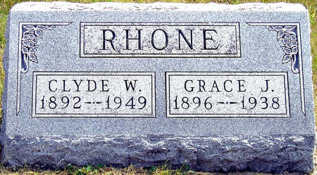 FOLAND RHONE, GRACE JANE - Madison County, Iowa | GRACE JANE FOLAND RHONE