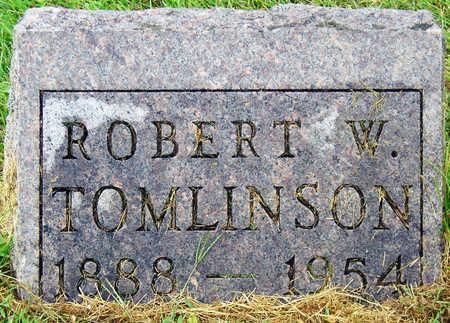 TOMLINSON, ROBERT W. - Madison County, Iowa | ROBERT W. TOMLINSON