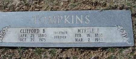 TOMPKINS, CLIFFORD B. - Madison County, Iowa | CLIFFORD B. TOMPKINS