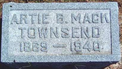 TOWNSEND, ARTISHIA B. (ARTIE) - Madison County, Iowa | ARTISHIA B. (ARTIE) TOWNSEND