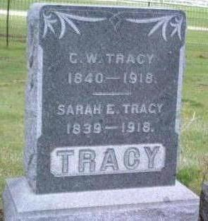 TRACY, SARAH E. - Madison County, Iowa | SARAH E. TRACY