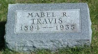 TRAVIS, MABEL RUTH - Madison County, Iowa | MABEL RUTH TRAVIS