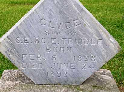TRINDLE, CLYDE - Madison County, Iowa | CLYDE TRINDLE