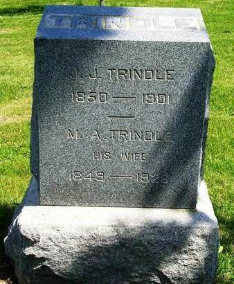 TRINDLE, MELVINA A. - Madison County, Iowa | MELVINA A. TRINDLE