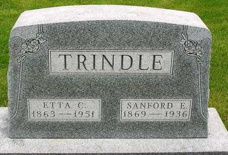 TRINDLE, CLARA ETTA G. - Madison County, Iowa | CLARA ETTA G. TRINDLE