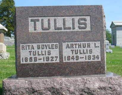 TULLIS, ARTHUR LOUIS - Madison County, Iowa | ARTHUR LOUIS TULLIS