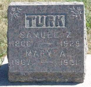 COUCH TURK, MARY ANN - Madison County, Iowa | MARY ANN COUCH TURK