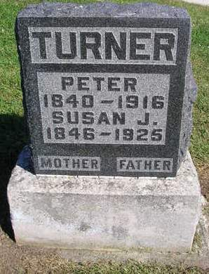 TURNER, PETER - Madison County, Iowa | PETER TURNER