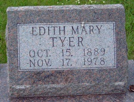 TYER, EDITH MARY - Madison County, Iowa | EDITH MARY TYER